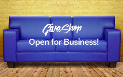 The GiveShop Marketplace is officially open for business!